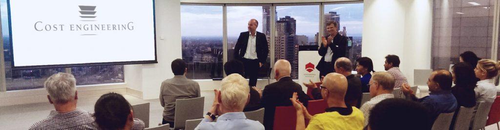 Presentatie bij DACE: synergie tussen kostenraming en projectbeheersing